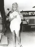 Stella Stevens Walking in Classic Portrait