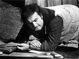 John Belushi Crawling in checkered Polo