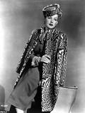 Ann Sheridan wearing an Animal Themed Coat