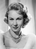 Virginia Mayo Posed with a Straight Face