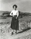 Faye Dunaway Holding Shotgun in Classic