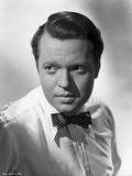 Orson Welles Portrait in Bowtie and Polo
