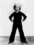 Shirley Temple Posed in Sailor Suit