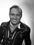 Gene Autry Grinning in Cowboy Outfit