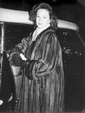 Susan Hayward Posed in an all Black