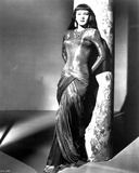 Maria Montez Leaning in Classic Portrait