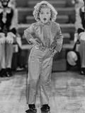 Shirley Temple Posed in Cute Outfit