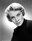 Mai Zetterling Posed in Black Sweater
