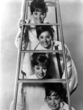 Lennon Sisters posed Under a Ladder