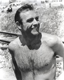Sean Connery Undress Black and White