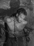 Ten Commandments Scene with Prisoner