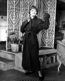 Sylvia Sidney wearing a Black Wardrobe