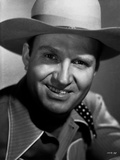 Gene Autry smiling in Cowboy Outfit