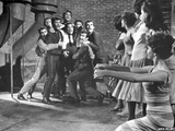West Side Story Men Scared by Women
