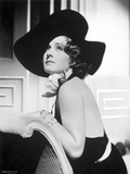 Norma Shearer Looking Up in Classic