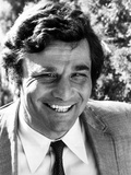 Peter Falk standing in Cowboy Outfit