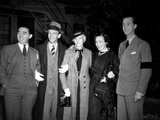 Fred Astaire Posed in Group Portrait
