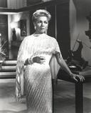Lana Turner Portrait  wearing White Gown
