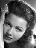 Anne Baxter Leaning on Hand and posed