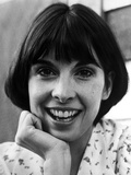 Talia Shire wearing a Printed Blouse