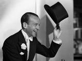 Fred Astaire Tipping Black Top Hat Off