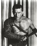 Kirk Douglas as Soldier Holding Sword