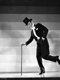 Fred Astaire Dancing in Black Tuxedo