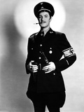 Robert Donat in Military Unifrom Portrait