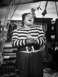 Abbott & Costello in Stripes laughing