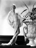 Thelma Todd Posed in Black and White