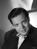 Orson Welles Posed in Black and White
