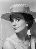 Natalie Wood Posed in Sleeve Less Top
