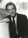 Kirk Douglas Black and White Portrait