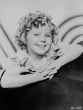Shirley Temple Leaning on the Couch