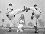 Jayne Mansfield Fighting in Classic