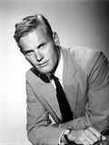 Tab Hunter Leaning in a Suit and Tie