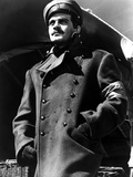 Omar Sharif in Police Coat With Cap