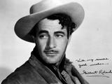 Gilbert Roland Poster in Cowboy Hat