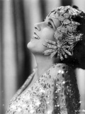 Kay Francis on a Beaded Top Portrait