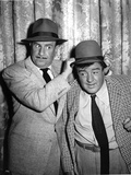 Abbott & Costello Posed wearing Hat