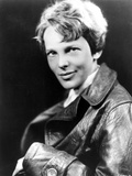 Amelia Earhart on Top Leather Jacket