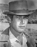 Paul Newman Portrait in Classic with Hat