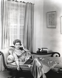 Joan Fontaine Answering a Telephone