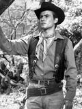 Horst Buchholz Posed in Cowboy Outfit