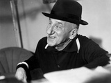 Jimmy Durante in Black Suit With Hat