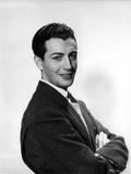 Robert Taylor Posed with Arms Crossed
