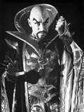 Max Von Sydow Posed in Demonic Attire
