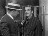 Al Jolson Talked by a Man with a Hat