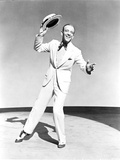 Fred Astaire smiling and Holding Hat