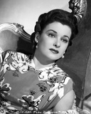 Joan Bennett on Printed Leaning Portrait